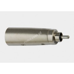 Adapter wtyk XLR 3p / wtyk RCA