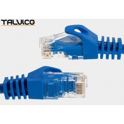 Patch cord FTP kat.5e CCA 2,0m niebieski 5P45