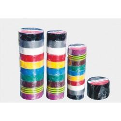 Taśma elektroizolacyjna 10m/19mm mix kolorów