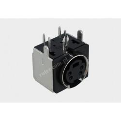 Gniazdo DIN mini 4p do druku (SVHS)