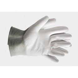Rękawice powlekane RTEPO białe (rozm.9)