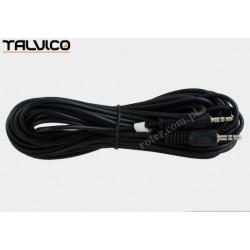 Przyłącze 2*wtyk 3,5 stereo JKJ01 5,0m CCA