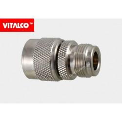 Adapter wtyk N/gniazdo N Vitalco
