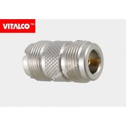Adapter gniazdo N/gniazdo UHF Vitalco