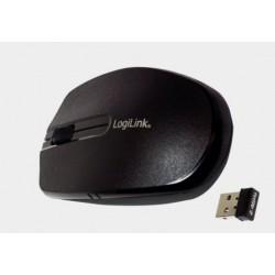 Bezprzewodowa mysz optyczna, podróżna z funkcją autolink czarna