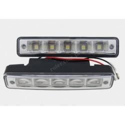 Światła do jazdy dziennej 5 diod SMD