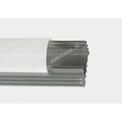 Profil LED TC-LS009 18mm/9.5mm/1m / klosz, 2 x uchwyt, 2 x zaślepka