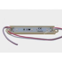 Moduł LED 3 diody SMD 2835 zielone 0,72W 12V IP65