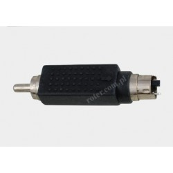 Adapter wtyk SVHS / wtyk RCA