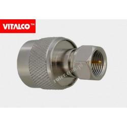 Adapter wtyk N/wtyk F Vitalco
