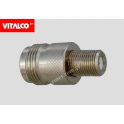 Adapter gniazdo N/gniazdo F Vitalco