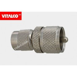 Adapter wtyk TNC/wtyk UHF Vitalco