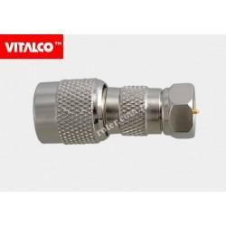 Adapter wtyk TNC/wtyk F Vitalco