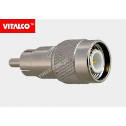 Adapter wtyk TNC/wtyk RCA Vitalco