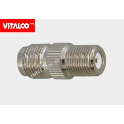 Adapter gniazdo TNC/gniazdo F Vitalco