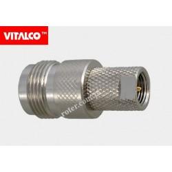 Adapter wtyk FME/gniazdo N Vitalco