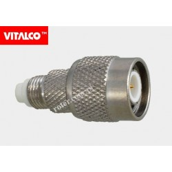 Adapter gniazdo FME/wtyk TNC Vitalco