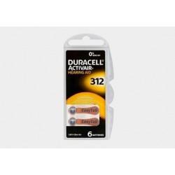 Bateria cynkowo-powietrzna Duracell Activair PR312