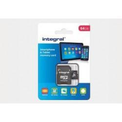 Karta pamięci+adapter mikroSDXC INTEGRAL 64GB