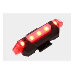 Lampa rowerowa tylna 5 led USB