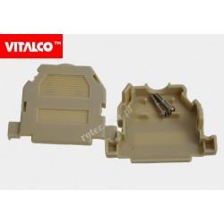 Obudowa złącza D-SUB 25 ivory, zatrzaskiwana DS2510 Vitalco