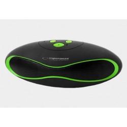 Głośnik bluetooth FM Trival czarno-zielony