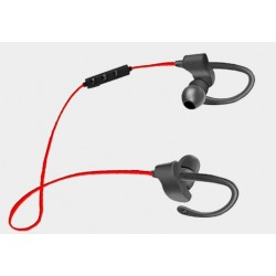 Słuchawki douszne bluetooth sportowe czarno-czerwone Esperanza