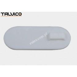 Uchwyt opaski plastik biały 24.5mm*58mm