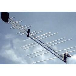 Antena TV Barczak Log 5-65 ze wzmacniaczem