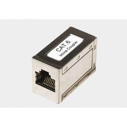 Adapter 2*gniazdo RJ45 kat.6 FTP