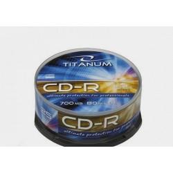 Płyta CD-R Titanum - cake box 25szt.