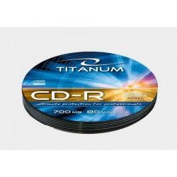 Płyta CD-R Titanum - soft pack 10szt.