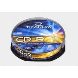 Płyta CD-R Titanum - cake box 10szt.