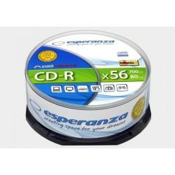 Płyta CD-R Esperanza Silver - cake box 25szt.