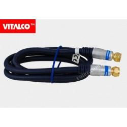 Przyłącze wtyk F digital 1,5m FK15 Vitalco