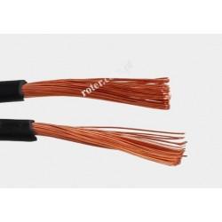 Przewód głośnikowy 2*2.50 czarny z paskiem
