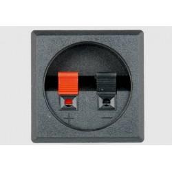 Gniazdo kolumny głośnikowej kwadratowe wciskane 2 pin