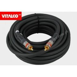 Przyłącze 1*RCA coaxial.10m RKD150 Vitalco