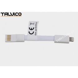 Adapter wtyk iPhone/wtyk USB A elastyczny Talvico