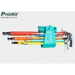 Zestaw kluczy imbusowych HW-230BL Proskit