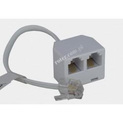 Adapter 4C wt.mod./2*gn.mod. przewód RoHS
