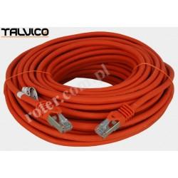 Patch cord SSTP kat.6a Cu LSZH 27AWG 20m 6P50 Talvico