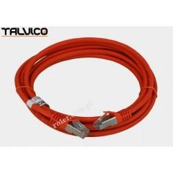 Patch cord SSTP kat.6a Cu LSZH 27AWG 3,0m 6P50 Talvico