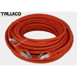 Patch cord SSTP kat.6a Cu LSZH 27AWG 15m 6P50 Talvico