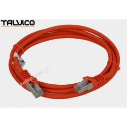 Patch cord SSTP kat.6a Cu LSZH 27AWG 1,5m 6P50 Talvico