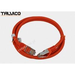 Patch cord SSTP kat.6a Cu LSZH 27AWG 1,0m 6P50 Talvico