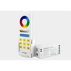Sterownik LED RGB+CCT 12/24V+pilot+uchwyt