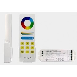 Sterownik LED RGBW 12/24V+pilot+uchwyt