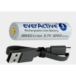 Akumulator 18650 Xtar 3200mAh mikro USB
