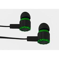 Słuchawki douszne Esperanza GAMING VIPER czarno-zielone